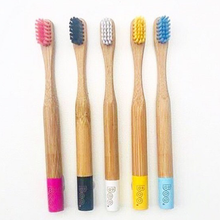 Load image into Gallery viewer, Bamboo Childrens Toothbrush The Boo Collective
