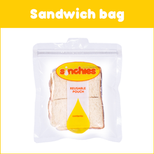 Load image into Gallery viewer, Sinchies reusable sandwich bag