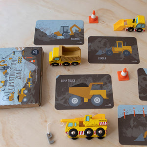 Construction Zone | Snap and Memory Game