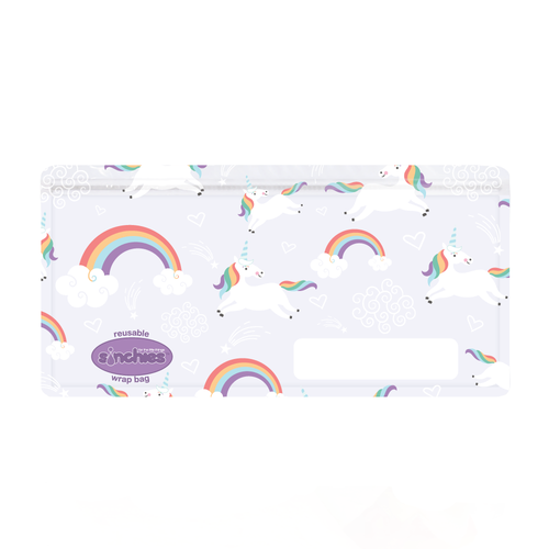 Sinchies. Sinchies reusable unicorn wrap bag. 20% off at Gumnut Kids