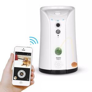 Skymee Dog Treat Dispenser, WiFi Remote with 2 Way Audio, Compatible with Alexa - Skymee Store