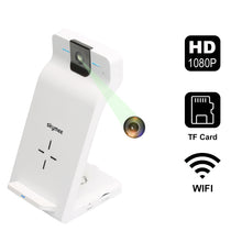 Load image into Gallery viewer, Skymee 1080P Pet Security Camera with WiFi Fast Wireless Charger All Qi-Enabled Phones - Skymee Store