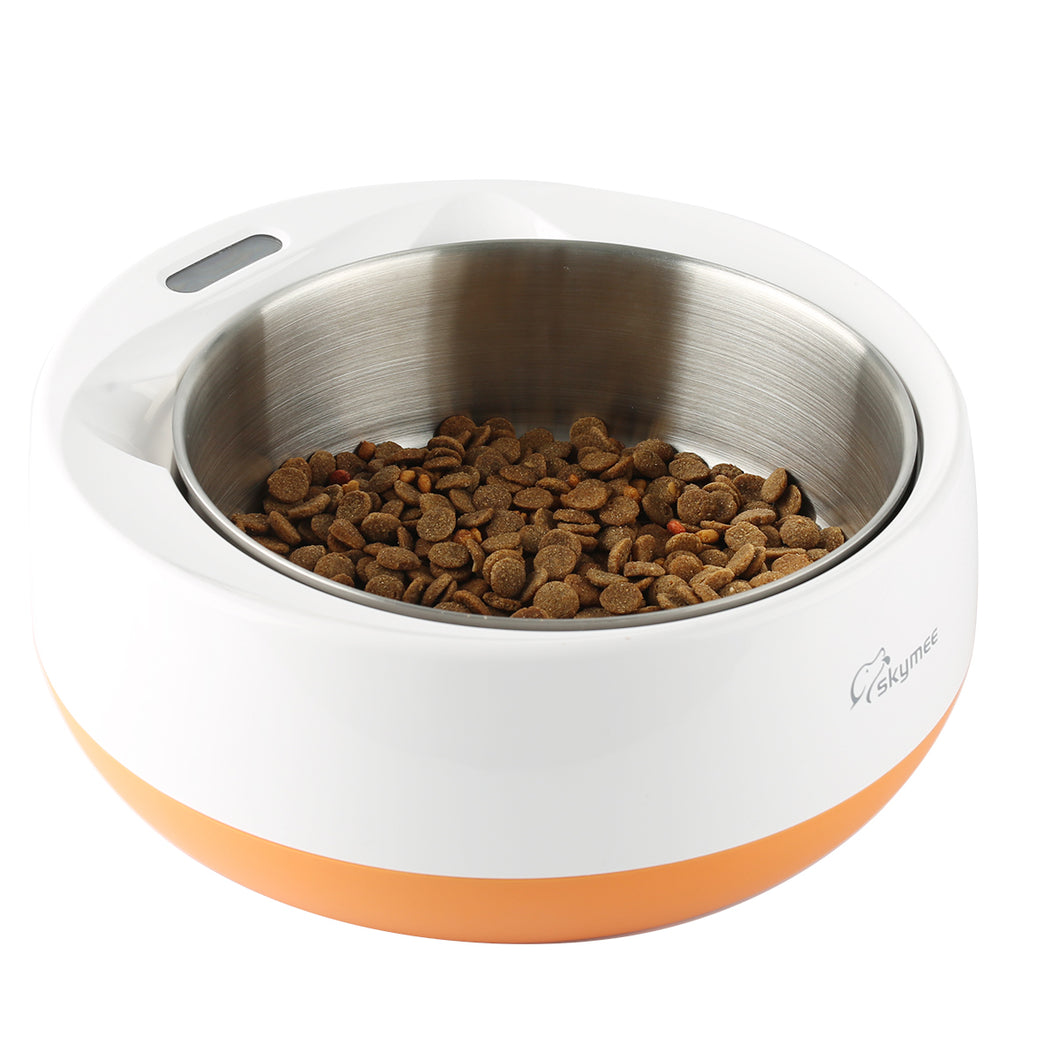 Skymee Smart Feeding Weighing Pet Bowl 1.8L  Multifunctional Digital Scale Pet Bowl For Dog&Big Cat - Skymee Store