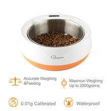 Load image into Gallery viewer, Skymee Smart Feeding Weighing Pet Bowl 1.8L  Multifunctional Digital Scale Pet Bowl For Dog&Big Cat - Skymee Store