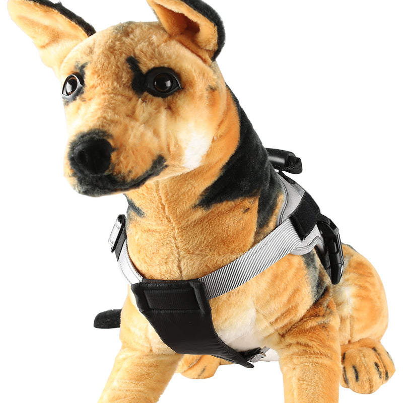 Skymee Pet Harness No-Pull Pet Adjustable Outdoor Vest 3M Reflective Oxford Material Easy Control - Skymee Store