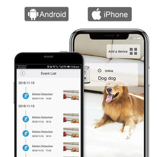 Load image into Gallery viewer, Skymee Dog Treat Dispenser, WiFi Remote with 2 Way Audio, Compatible with Alexa - Skymee Store
