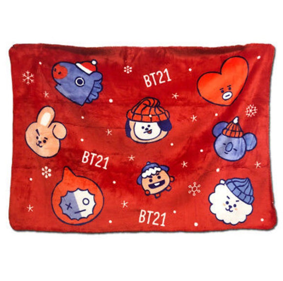 Official BT21 Christmas Blanket