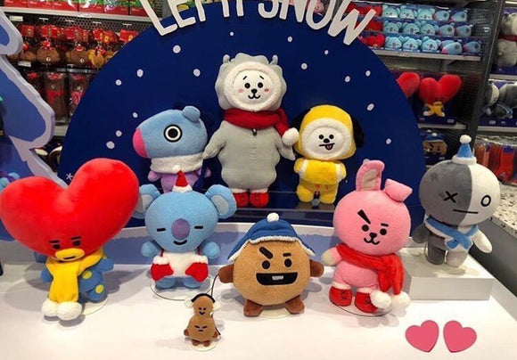 Official BT21 Winter Series Plush Doll