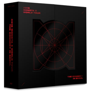 2018 MONSTA X WORLD TOUR THE CONNECT IN SEOUL DVD (3 DISC)