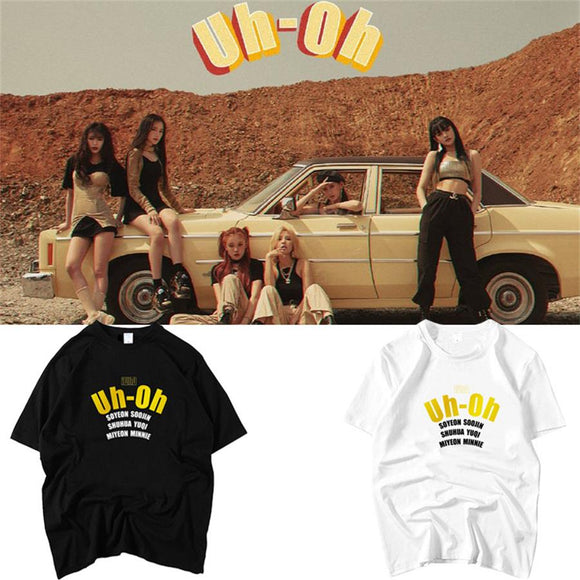(G)I-DLE Uh-Oh Tee
