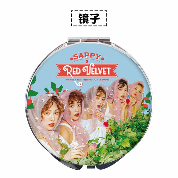Red Velvet SAPPY Hand Mirror