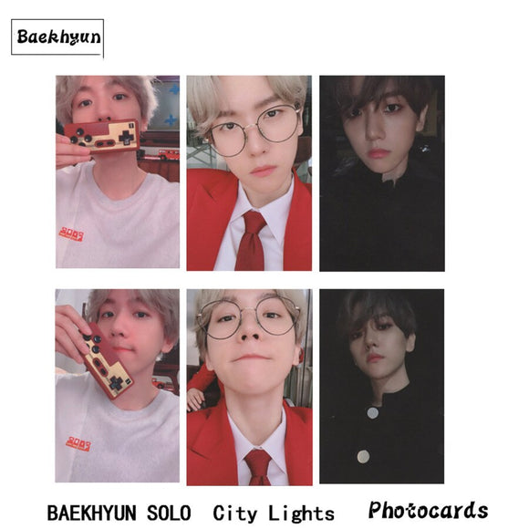 Baekhyun CITY LIGHTS Lomo Cards