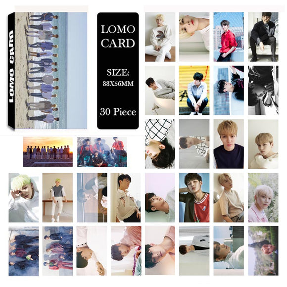 Seventeen Don't Wanna Cry Lomo Cards