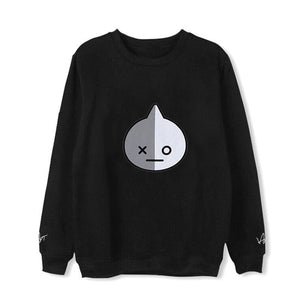 Black BT21 Signature Sweatshirt
