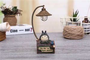 Mini Totoro Sitting Lamp