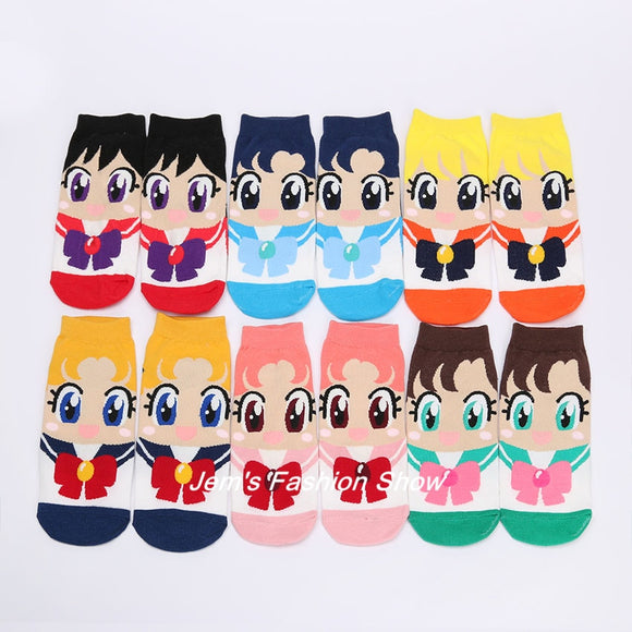 Sailor Scout Sock Set