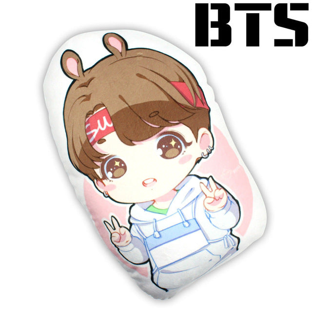 Jungkook Anime Style Pillow Lunar Cat Co