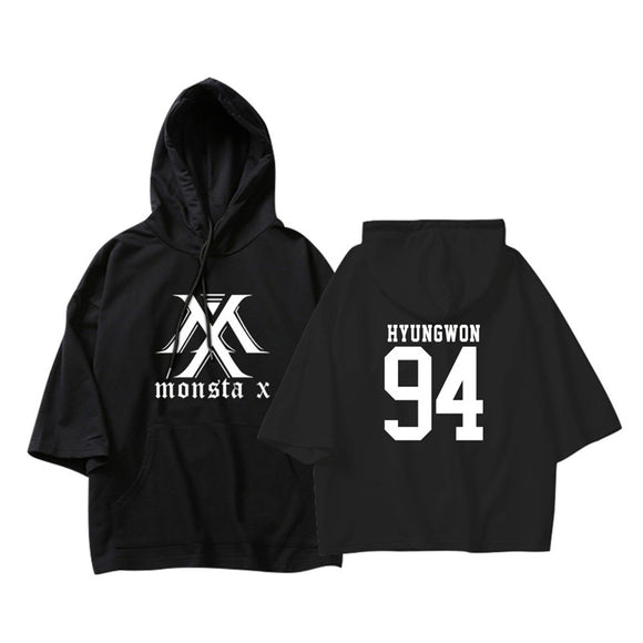 Monsta X Big Sleeved Hoodie