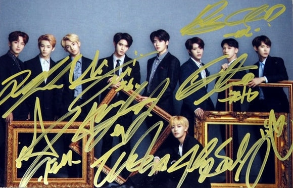 NCT Signed Group Photo (Suits)