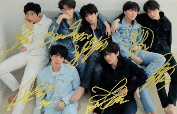 BTS LY: Tear (Concept Photo R) Signed Photo
