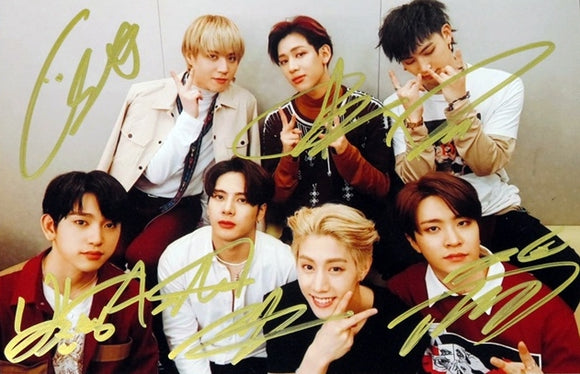 GOT7 Signed Group Photo (Red/White)