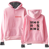 MONSTA X Striped Hoodie