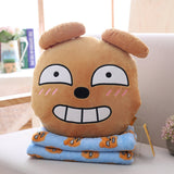 Kakao Friends Pillow and Blanket Set