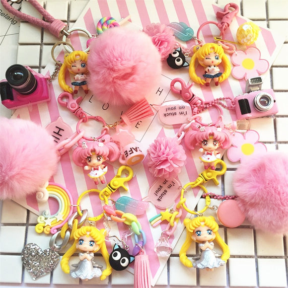 Sailor Moon Chibi Doll Keychain