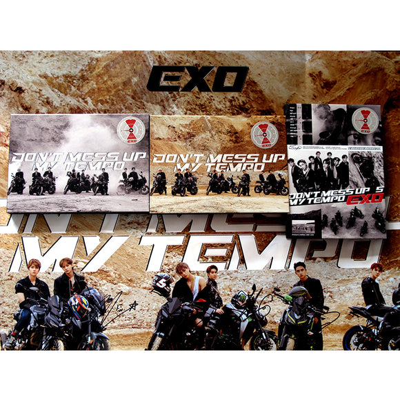 EXO Don't Mess Up My Tempo Signed Album