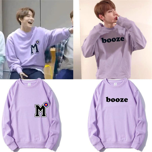 Doyoung Purple Pullover