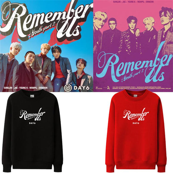 DAY6 Remember Us: Youth Part 2 Pullover