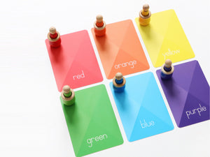 Colors & Shapes Flash Cards