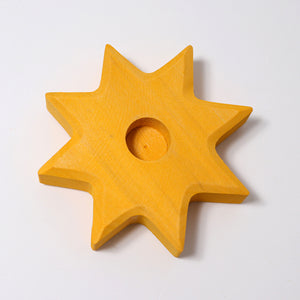 Grimm's Decoration Yellow Star