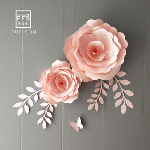 SET12# FFS 3D Artificial Flowers  Room Decoration  Diy Craft Supply  Party Backdrops  Shop Window