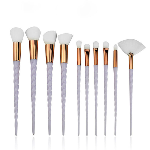 Makeup Brushes 10 Piece, Unicorn Makeup Brush, Professional Makeup Brush Set Kit