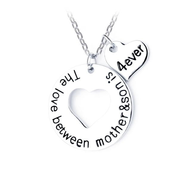The Love between Mother & Son is 4ever Pendant