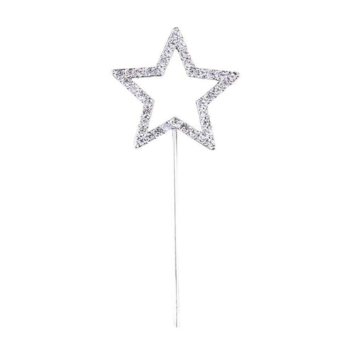 Lovely Star Shape Cake Topper Cupcake Decoration Favors Supplies for Birthday Wedding Party
