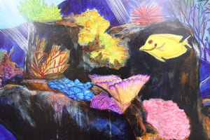 Sea Life Mural, tropical fish