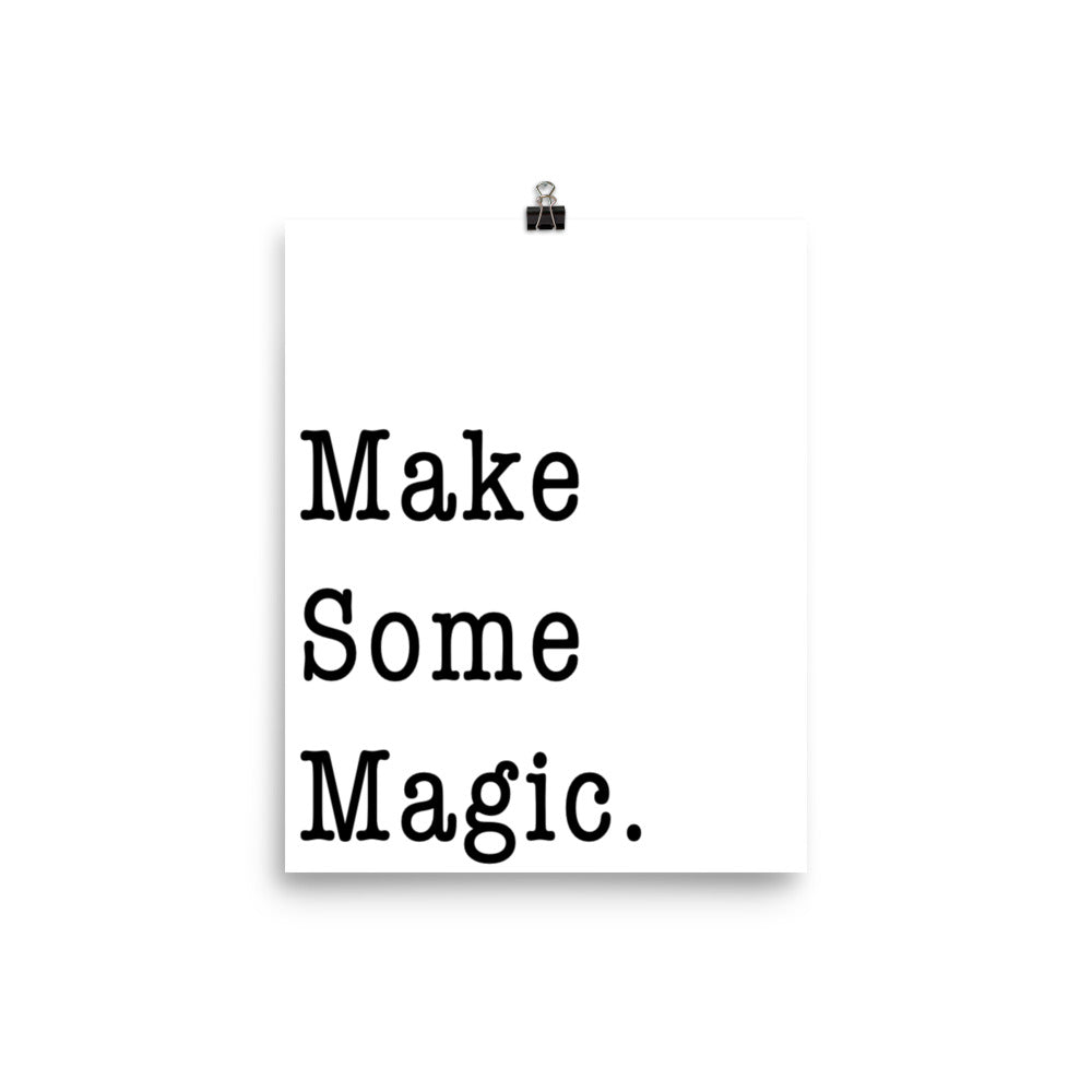 Make Magic Print