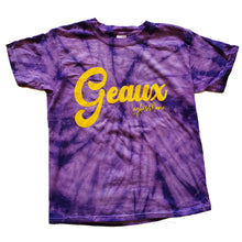 Load image into Gallery viewer, Youth Geaux Tie Dye Shirt