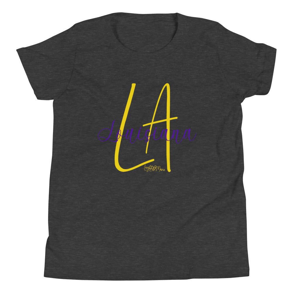 La LouisianaYouth Short Sleeve T-Shirt