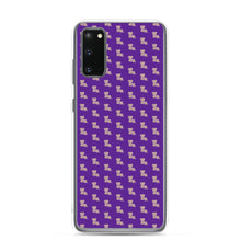 Load image into Gallery viewer, Purple and Gold Pattern LA Samsung Case