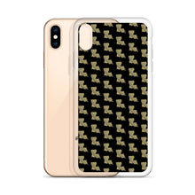 Load image into Gallery viewer, La Black & Gold Pattern iPhone Case