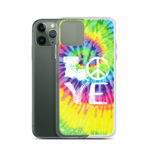 Load image into Gallery viewer, Hippie Love iPhone Case