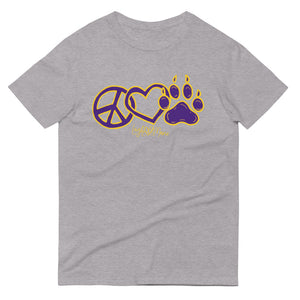 Peace Love Paw Short-Sleeve T-Shirt