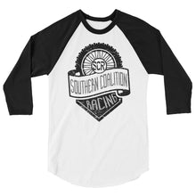 Load image into Gallery viewer, SCR 3/4 sleeve raglan shirt