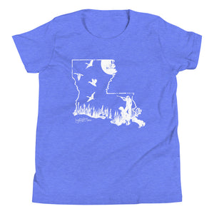 La. Duck Hunt Youth Short Sleeve T-Shirt