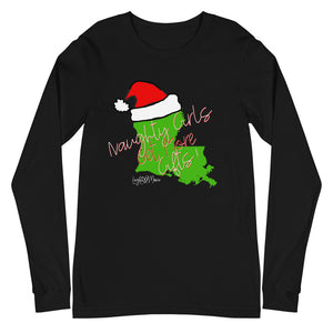 Naughty Unisex Long Sleeve Tee