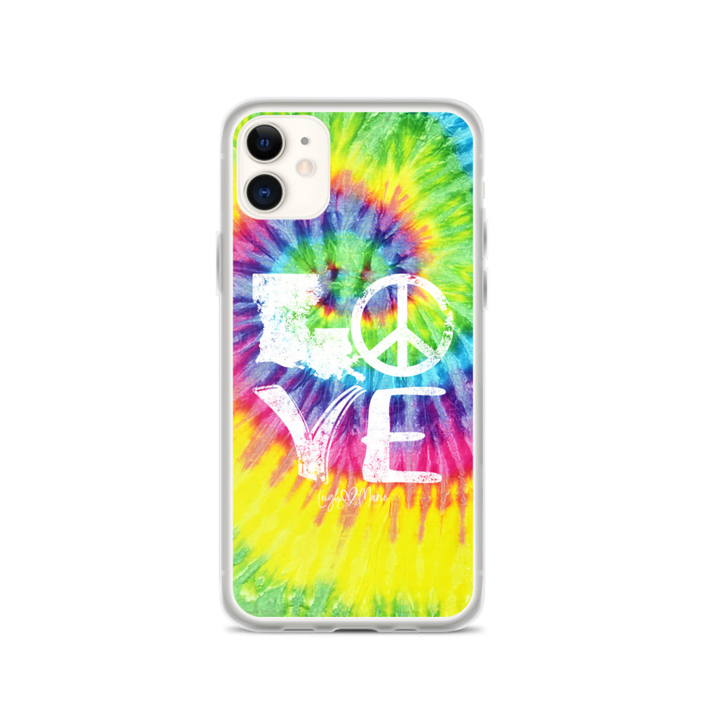 Hippie Love iPhone Case