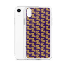 Load image into Gallery viewer, La Tiger Pattern iPhone Case